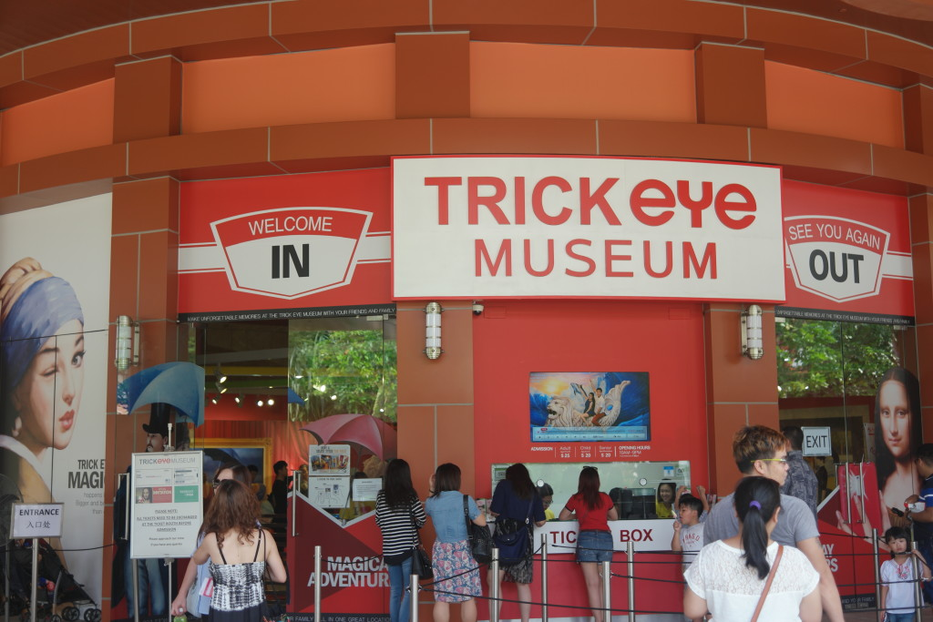 The famous Trick Eye Museum