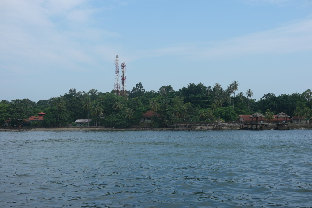Pulau Ubin within sight!