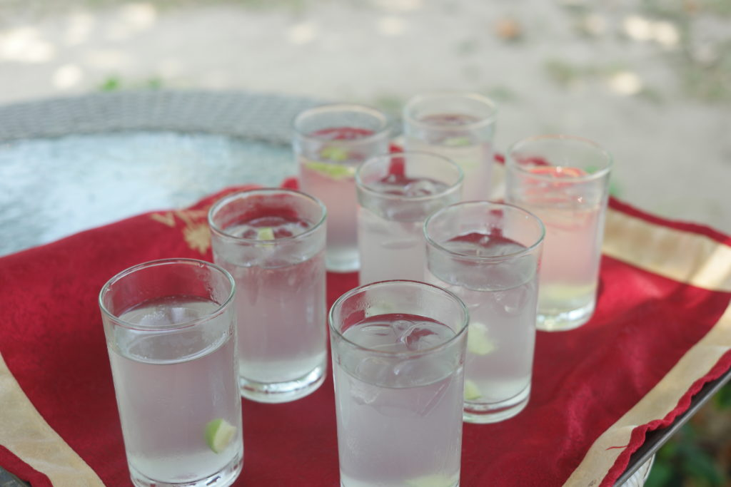Refreshing Welcome Drinks!