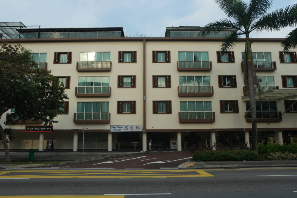 COO Hostel is just behind this building across Tiong Bharu Road