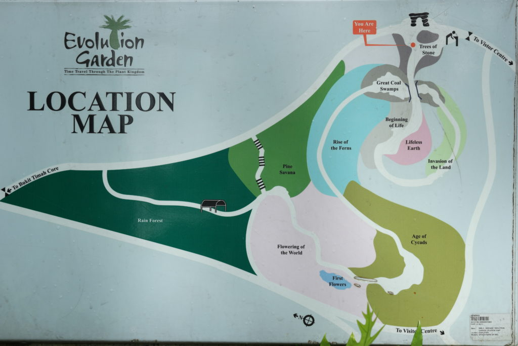Evolution Garden Path Map